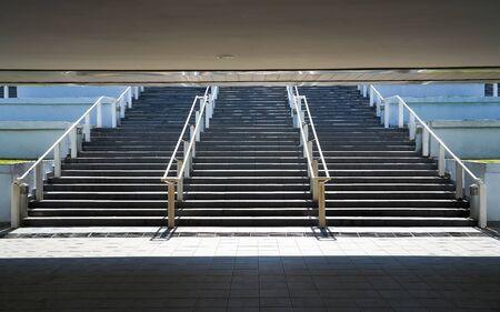 Stairs from underground upward Imagens