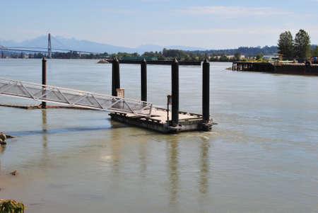 fraser: Dock on Fraser River