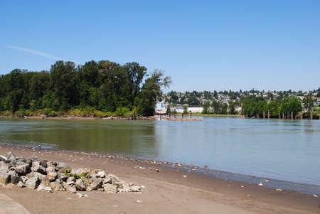fraser: Fraser River at Summertime