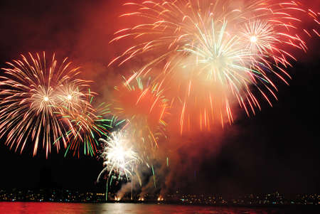 strait: fireworks over strait