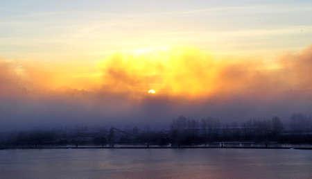 fraser: Morning View  of Fraser River