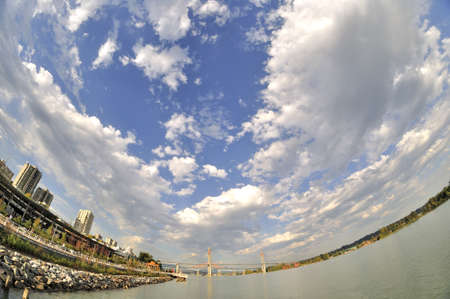 fraser: Pier Park by Fraser River
