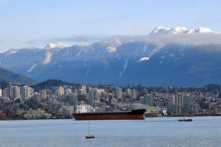 Cityscape of North Vancouver photo