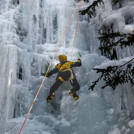 Iceclimbing in the High Tatras