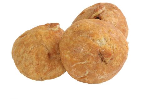 gulab: three filled pastry sweet barfi