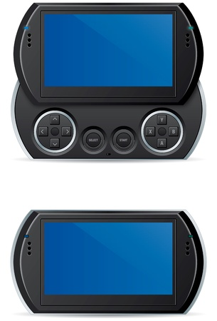 portables: electronic portable handheld video game system