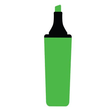 Groene markeerstift