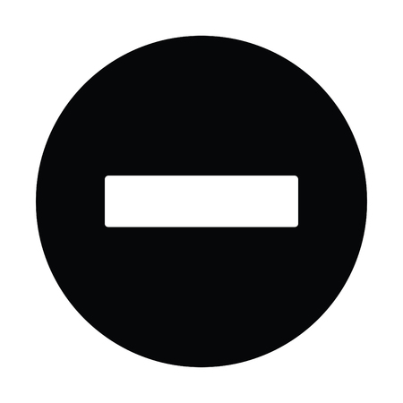 A black and white silhouette of a stop sign