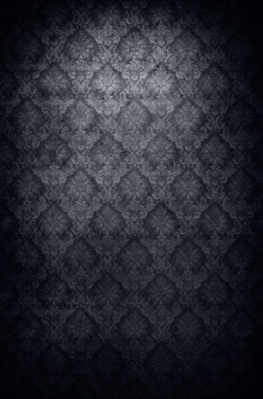 antique wallpaper: Retro style grungy old antique wallpaper background Stock Photo