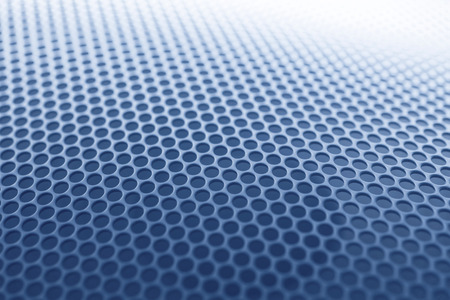 grille: Abstract Blue speaker grille background Stock Photo