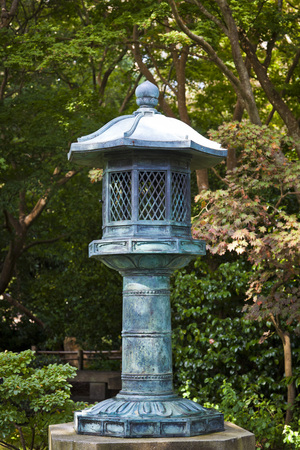 japanese tea garden: Japanese Tea Garden Lantern in San Francisco, California