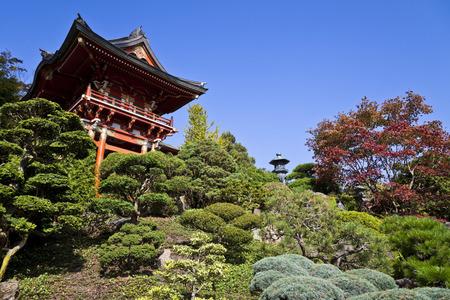 japanese tea garden: Japanese Tea Garden in San Francisco, California
