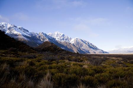 the south island: South Island Landscape Scenery, Canterbury, New Zealand