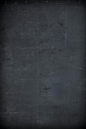 aluminium wallpaper: Grungy dark metal textured background with holes pattern Stock Photo