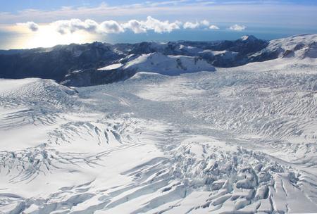 josef: Franz Josef glacier, South Island, New Zealand Stock Photo