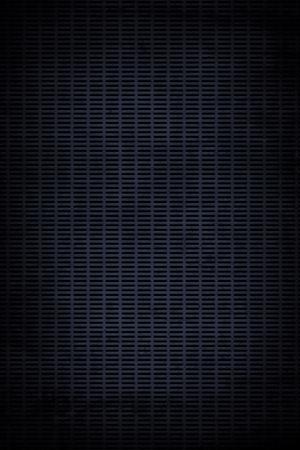 black textured background: Rough textured black metal grille photo background Stock Photo