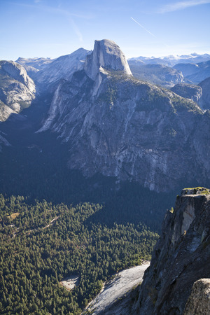 Half Dome in Yosemite National Park in California�s Sierra Nevada mountains