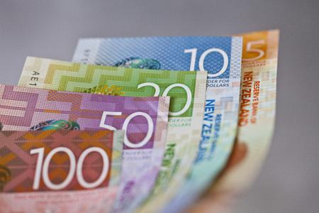 Dinheiro, dinheiro ou moeda da Nova Zel
