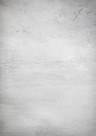 Rough grunge plain white painted abstract art background