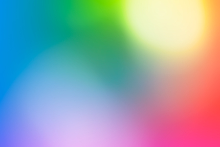 Abstract background with bright rainbow blurry colors