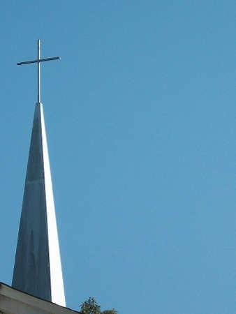 church steeple: campanile della chiesa