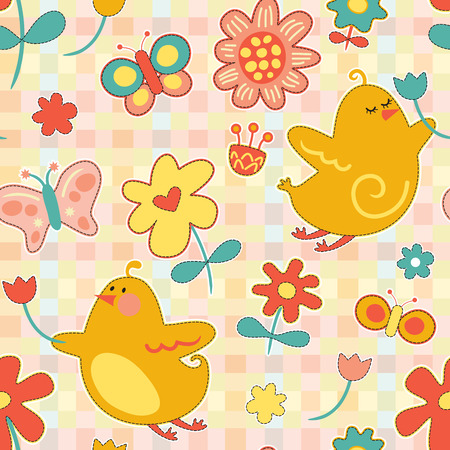 Spring Repeat Pattern