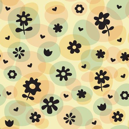 Repeat Spring Flowers Fun Pattern