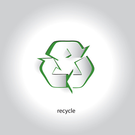 Art Paper Icon Design Recycling Symbol