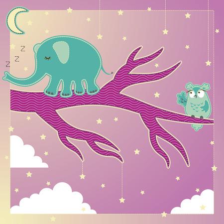 Sleepwalking Dream World Illustration