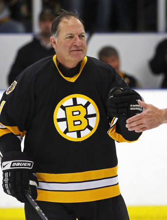 middleton: Former NHL star Reggie Lemelin is introduced at a Boston Bruins alumni hockey game March 20, 2014 in Sussex, Canada.