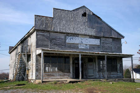 An abandoned store