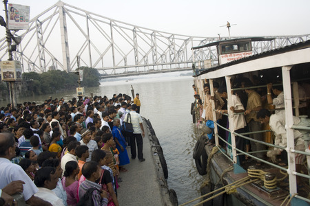 howrah: A Ferry ride in Howrah Editorial
