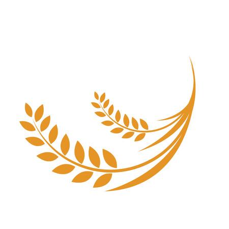 Ears of Wheat, Vector Illustration, Icon,rice