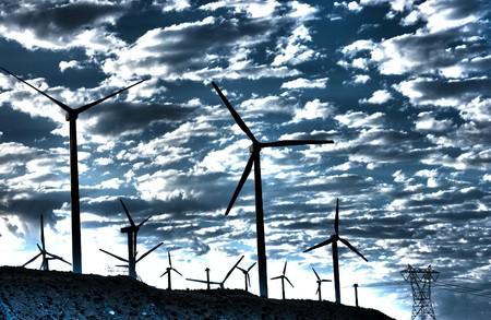 windy energy: Wind Generators in the California Desert