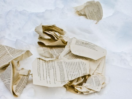Pages in the Snow