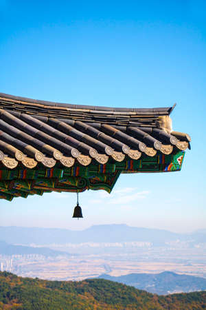 Beautiful wind bell in Korea