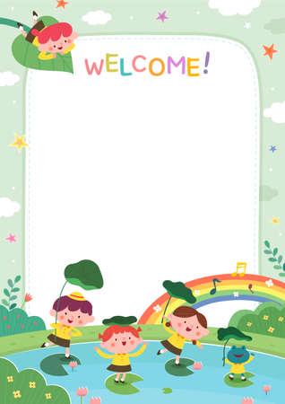sample template for kindergarten student recruitment
