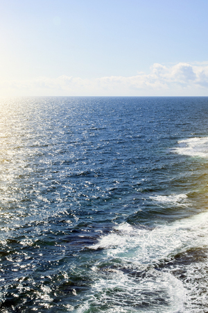 bird's-eye view of the sea