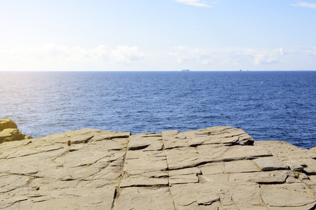 place on the edge of the earth 写真素材