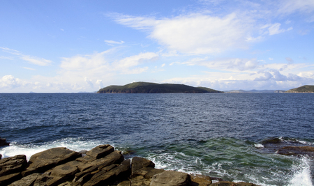 Shkota island, Vladivostok, Primorsky Krai, Russia