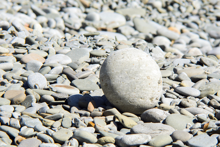 large and round heavy stone Imagens - 124869913