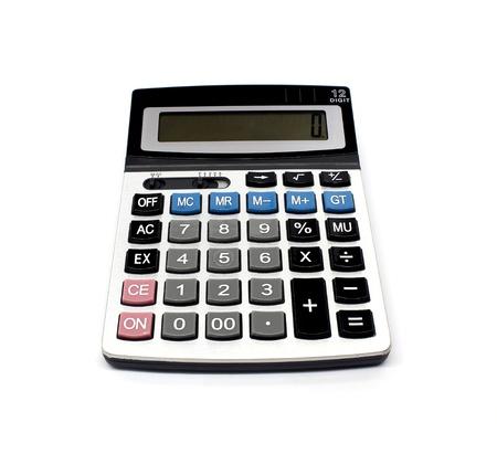 algebra calculator: calculator isolated on a white background