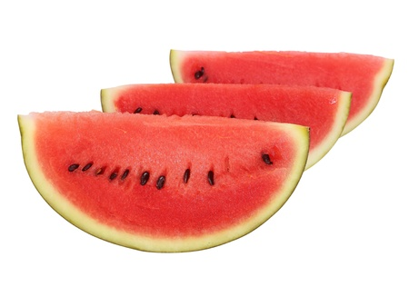 Watermelon isolated on white background photo