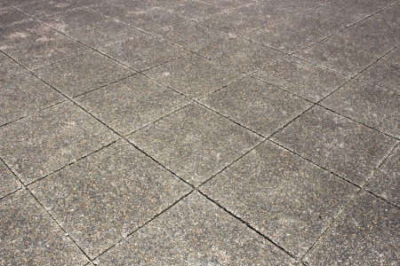 Vintage stone street road pavement texture photo