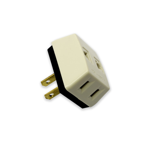 Plug on a white background  photo