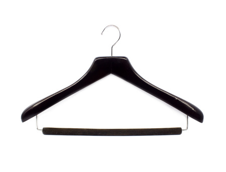 coathanger: Black cloth hangers