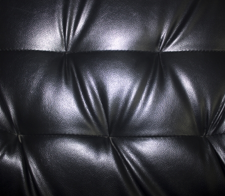 Black leather . photo