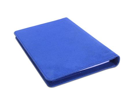 Notebook on white background. photo
