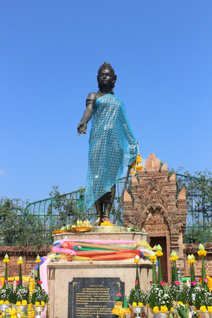 lamphun: Statue of Queen Chamadevi Lamphun Thailand
