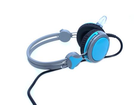 headphones on white background Stock Photo